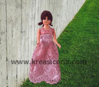 Cara Paling Mudah Membuat Baju Boneka Barbie