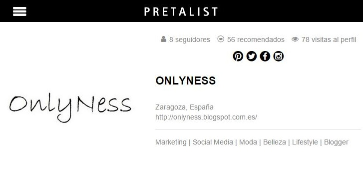 OnlyNess perfil Pretalist