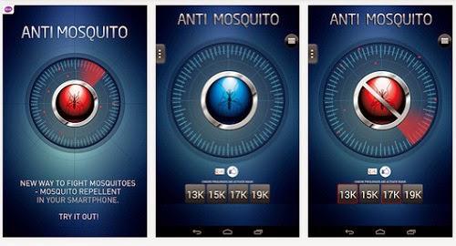 Ponsel Penghalau Nyamuk