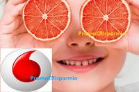 Logo Concorso ''Vodafone Vitamina'': vinci ogni giorno 100 ricariche da 10€