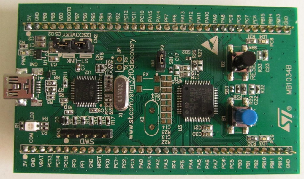 STM32 Learning without CubeMX: STM32f051R8T6 LED_Blink : My