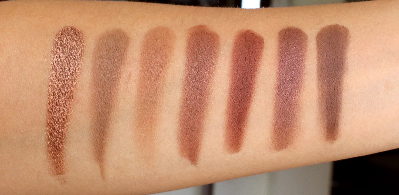 Morphe 35k eyeshadow palette review beauty in bold - Second Row