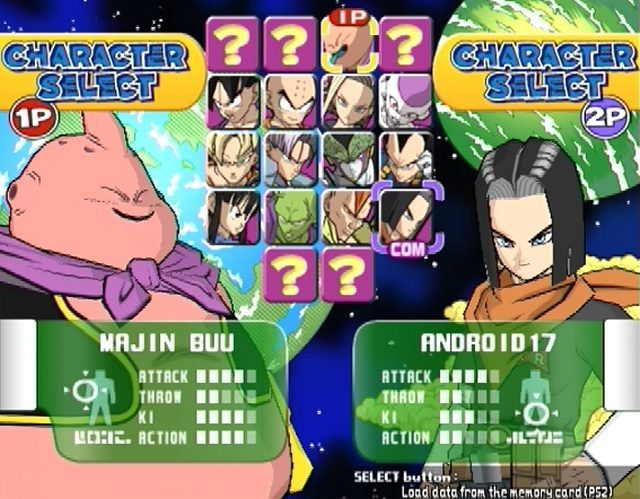Super Dragon Ball Z PS2 GAME ISO Gameplay 1