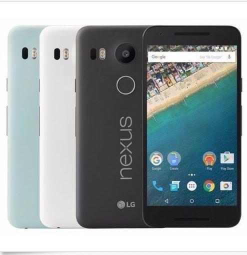 "LG Google Nexus 5X H791 32GB (FACTORY UNLOCKED) 5.2"" HD - Carbon / Quartz / ice"