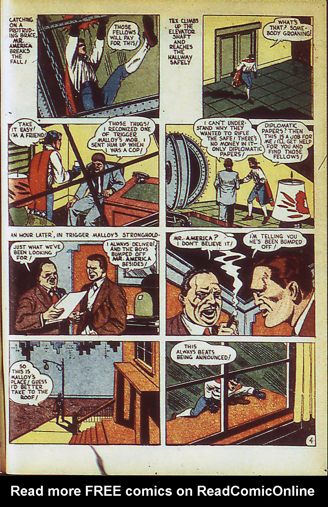Read online Action Comics (1938) comic -  Issue #41 - 42