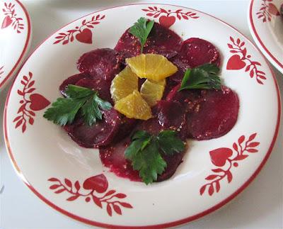 Салат из свеклы оригинальный