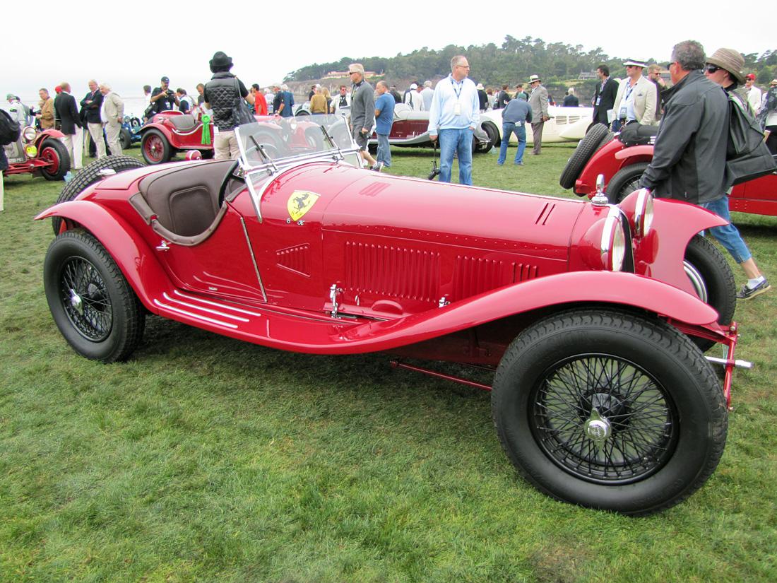 Concours Delegance Pebble Beach Alfa Romeo C on 1938 Alfa Romeo 8c 2900b