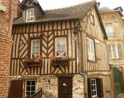 Maisons Normandes sur Honfleur calvados