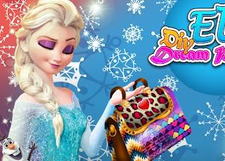 Elsa Dream Purse Frozen Online Games
