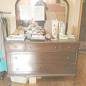Vintage Dresser To Baby Nursery Changing Table Midwest Cottage