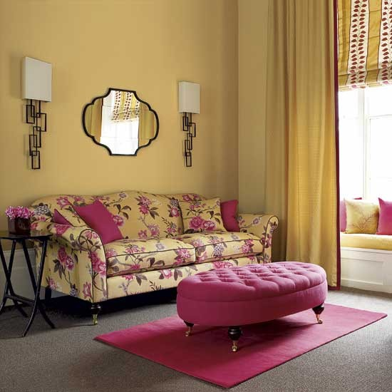 Yellow Living Room: An Indian Design & Decor Blog: Some