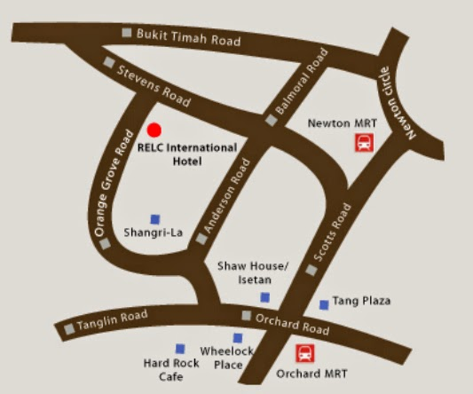 location RELC International Hotel