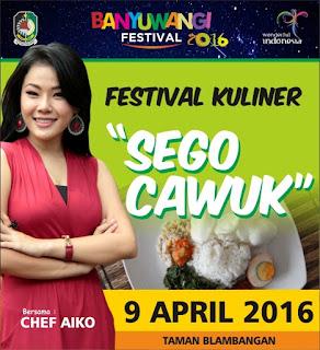 Festival Kuliner Sego Cawuk 2016
