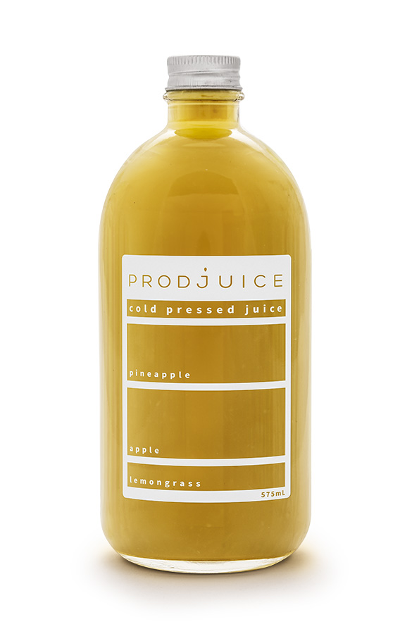 Prodjuice Cold pressed Juice on Packaging of the World