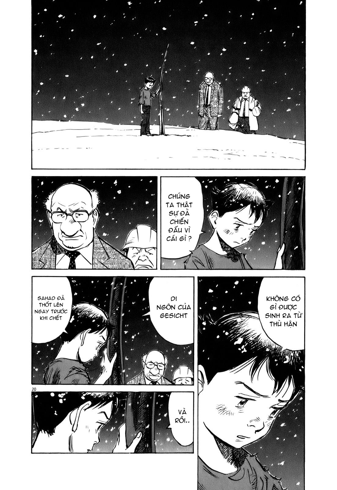 Pluto chapter 65 trang 22