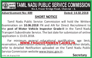 tnpsc-motor-vehicle-inspector-post-recruitment-tngovernmentjobs