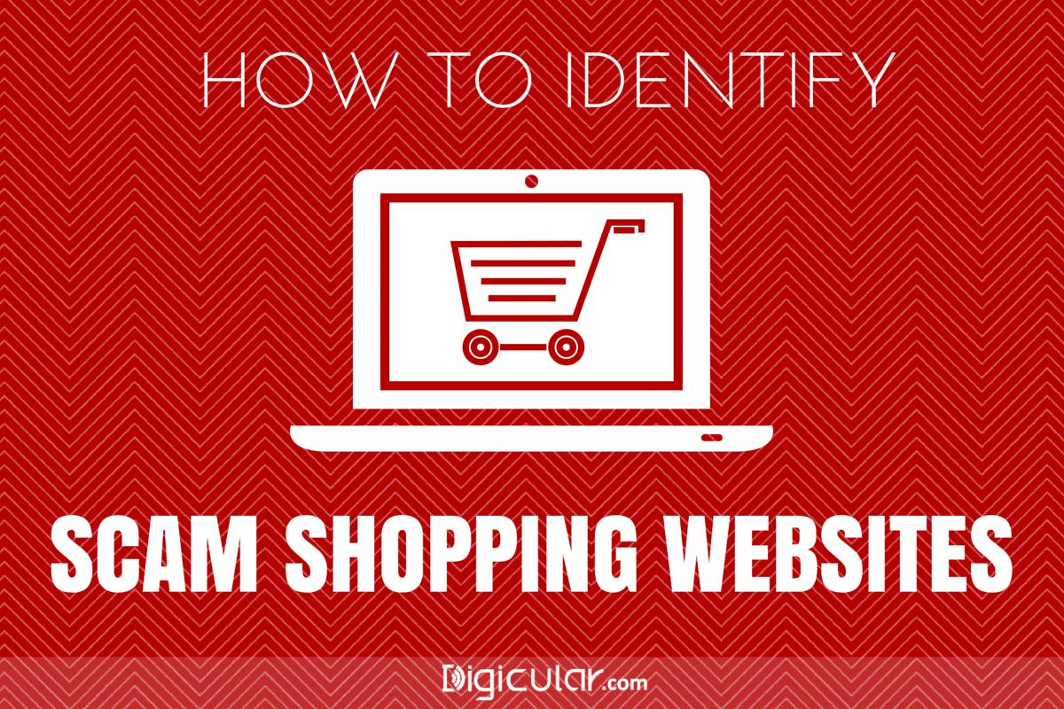 Spot scam shopping website
