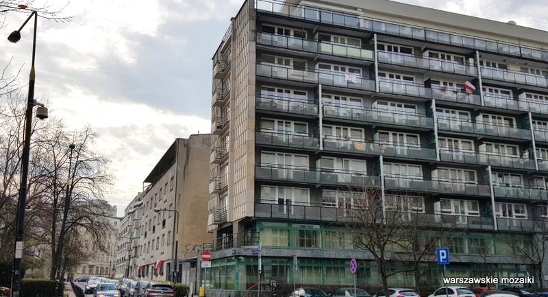 Warszawa Warsaw Śródmieście kamienica warszawskie ulice Gelbard Sigalin Pniewski Szanajca lata 30 architektura zabudowa
