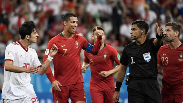 Pertandingan Portugal vs Iran