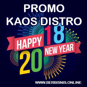 Dapatkan promo untuk pembelian kaos distro pada bulan desember 2017