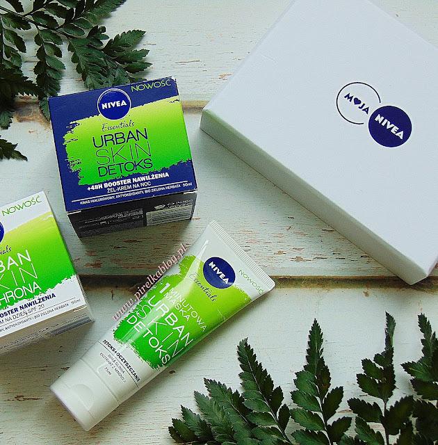 Nowość Nivea® - Urban Skin Detoks, 1-minutowa Maska do twarzy z białej glinki Kaolin