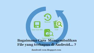 Cara Mengembalikan File , Foto dan Data Penting Terhapus di Android [ ROOT ]