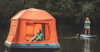First Floating Tent