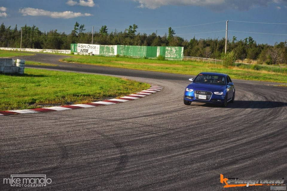 S4 Sees the track! B8 5 S4 track review with video