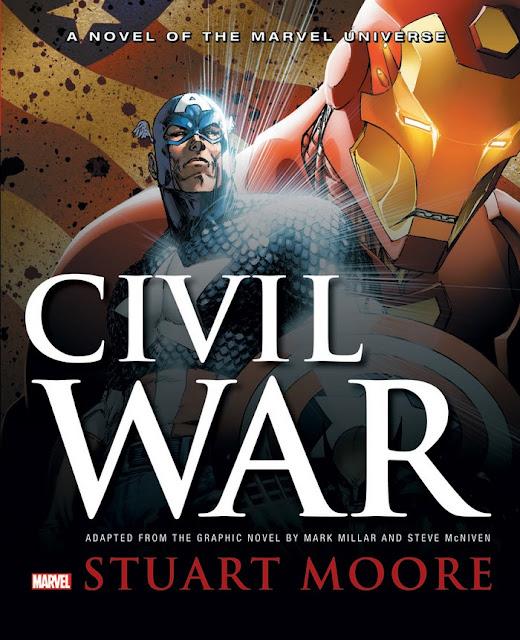 Guerra Civil – Diferenças entre o livro, a HQ e o filme