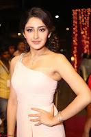 Sayesha Spicy Half Shoulder Cream Gown at Zee Telugu Apsara Awards 2017 07.JPG