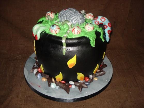 Free halloween cauldron cake images for facebook,whatsapp,instagram