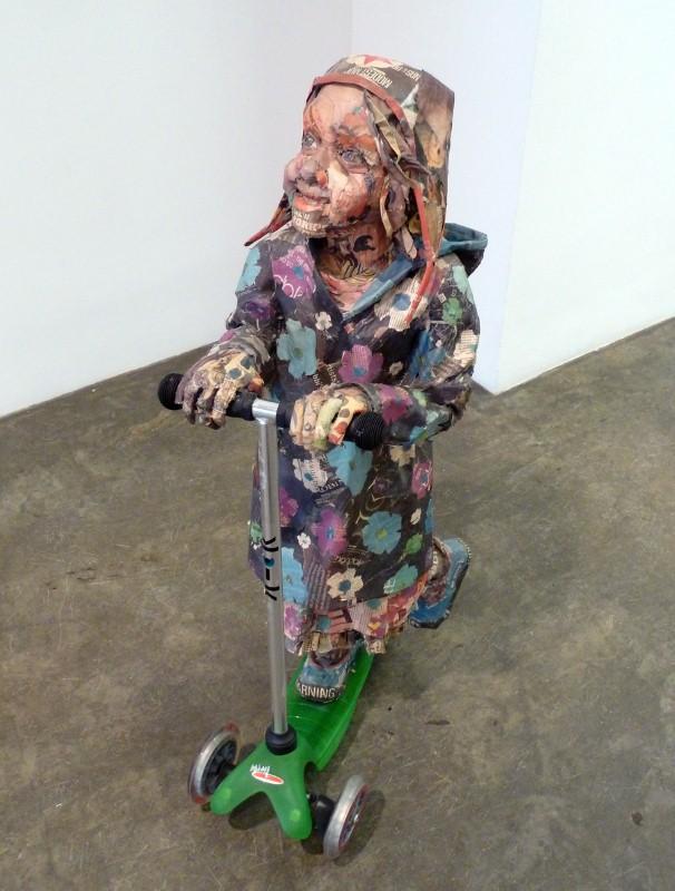 Скульптуры из мусора Уилла Курца 5
