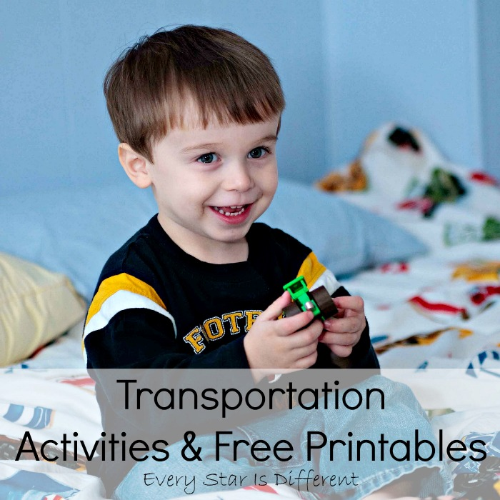 Transportation Activities and Free Printables