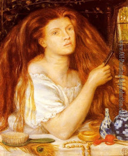 http://www.oil-painting-reproduction.com/p72952/Dante-Gabriel-Rossetti/Woman-Combing-Her-Hair-Reproduction.php