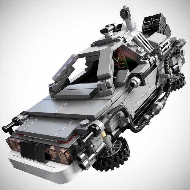 Oakley Radarlock Path >> Stormtrooper: DeLorean Time Machine Building Set by LEGO