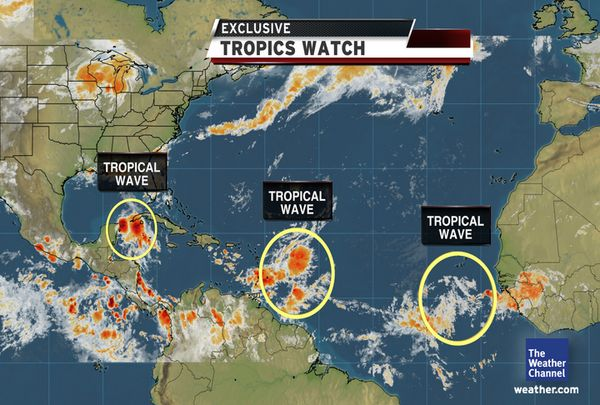 Tropical Storm Don forming and possibly eyeing Texas