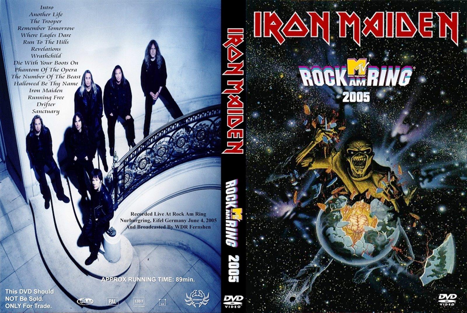 3aaffe4134 DVD Concert TH Power By Deer 5001  Iron Maiden - Rock am Ring 2005
