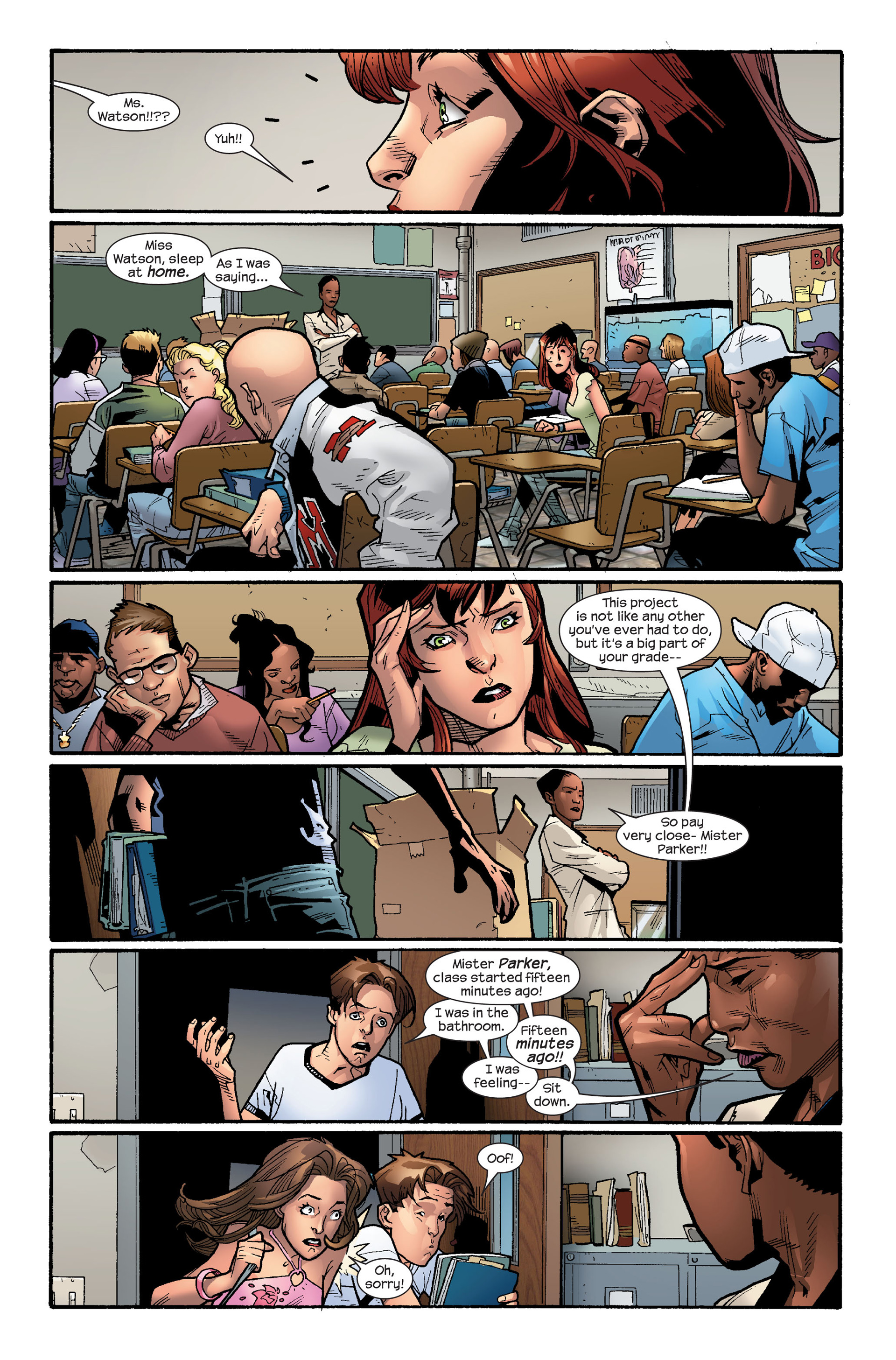 Read online Ultimate Spider-Man (2000) comic -  Issue #112 - 9
