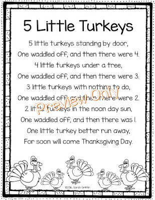 https://www.teacherspayteachers.com/Product/5-Little-Turkeys-Thanksgiving-Poem-2860505