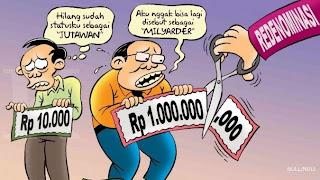 Hasil gambar untuk redenominasi rupiah