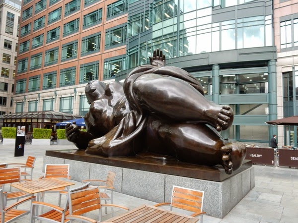 Broadgate Venus bronze sculpture London