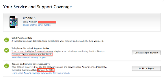 2 Ways To Know Warranty Status your iPhone, iPad and iPod Touch