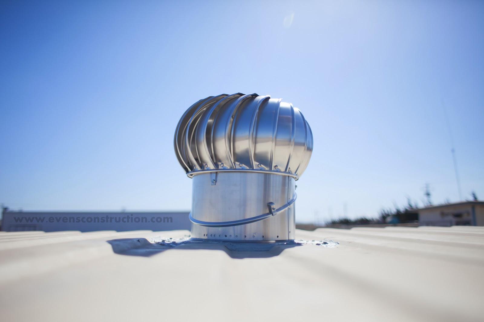 Evens Construction Pvt Ltd Turbine Air Ventilation