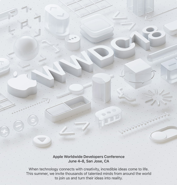 مؤتمر آبل السنوي 2018 WWDC,مؤتمر ابل السنوي 2018 للمطورين,مؤتمر ابل, ابل,المطورين, المبرمجين,WWDC,apple Developer,