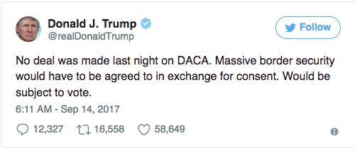Trump om rasistiska sheriffen han kan vara lugn