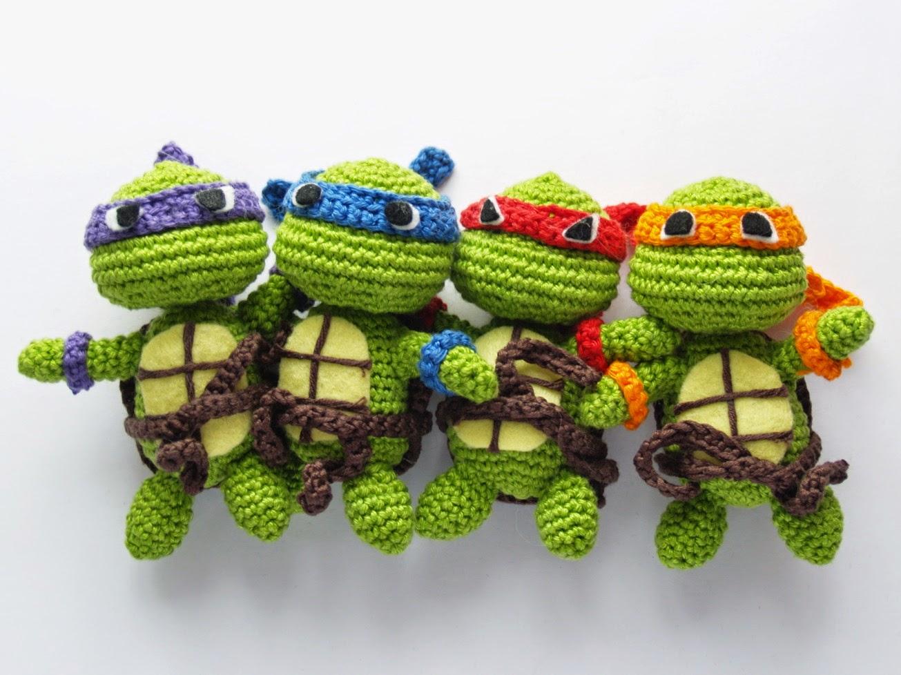 Willst Mi Häkeln Amigurumi Turtles