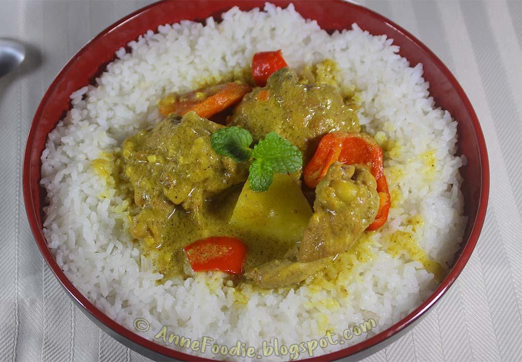 How To Make Filipino Chicken Curry My Version Anne Foodie