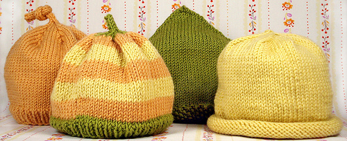 These cable baby hats are worked in the round on different size needles and  gauges of yarn to obtain Preemie and Newborn sizes. Julie Hentz uses Debbie  ... 25bbf3625de