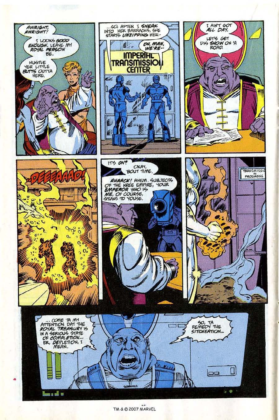 Read online Silver Surfer (1987) comic -  Issue #53 - 18