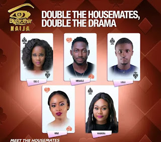Big Brother Naija Housemates 2018